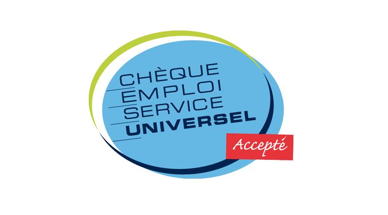 chèque service universel accepté
